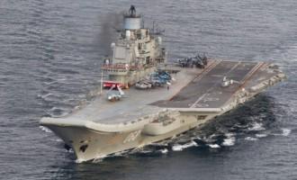 Lielbritānijas karakuģi Ziemeļjūrā pavada Krievijas karaflotes grupu
