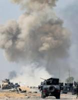 Irākas spēki atkarojuši pilsētu pie Mosulas