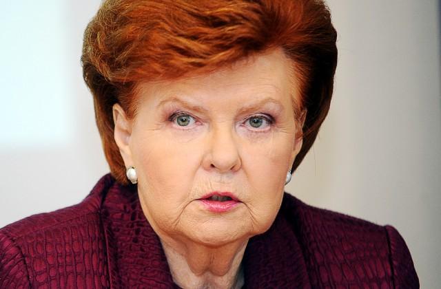 Latvijas eksprezidente Vaira Vīķe-Freiberga