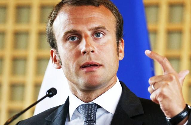 Francijas ekonomikas ministrs Emanuels Makrons