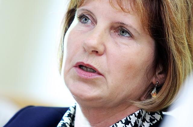 Biedrības «Baltijas HIV asociācija» valdes priekšsēdētāja Inga Upmace