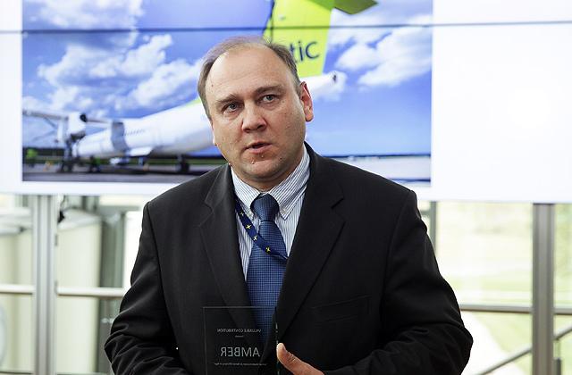 Civilās aviācijas aģentūras direktors Māris Gorodcovs
