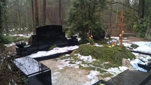 Mūža mājas Brāļu kapos arī Ušakova vecākiem-nepilsoņiem