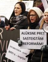 Ap 250 cilvēku pretim MK prasa apturēt RPIVA likvidācijas procesu