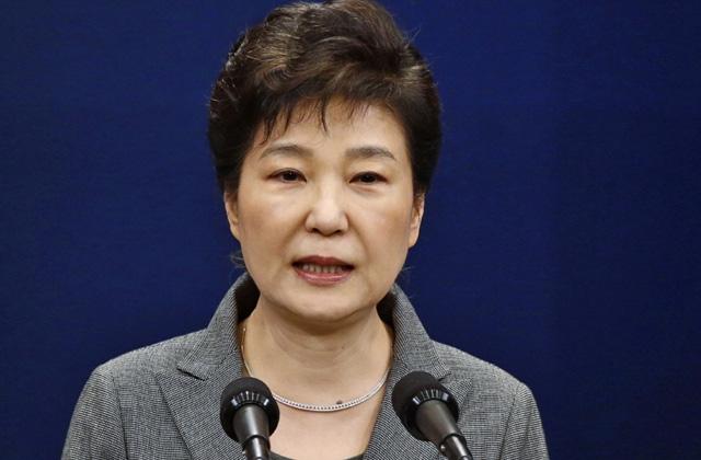 Bijusī Dienvidkorejas prezidente Paka Gunhji