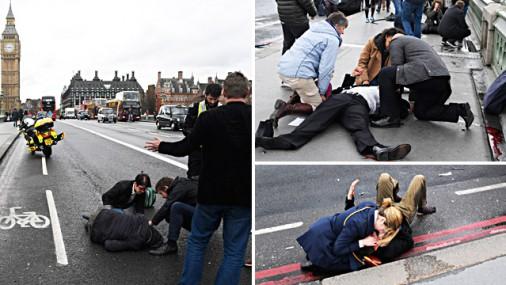 Uzbrukumā Londonas centrā četri upuri; 20 ievainoto