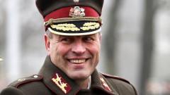 Latvijas armijas komandieris pērn nopelnījis € 42,6 tūkstošus