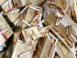 Vīrietis mēģina aizbēgt ar 120 000 kontrabandas cigarešu