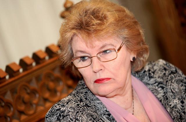 Rīgas domes Izglītības, kultūras un sporta komitejas priekšsēdētāja Eiženija Aldermane