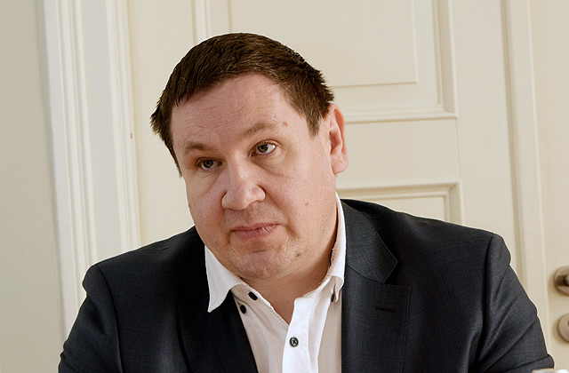 Ogres novada domes priekšsēdētāja vietnieks Egils Helmanis