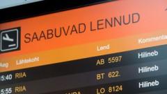 Slikto laika apstākļu dēļ Rīgā nosēžas «airBaltic» reiss «Amsterdama – Tallina»