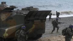 Beidzas ikgadējās Dienvidkorejas un ASV militārās mācības «Foal Eagle»
