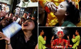 Vjetnamas garu izsaucēji atdzīvina savulaik aizliegtu rituālu