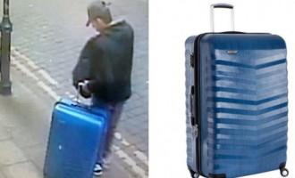 Policija publicē Mančestras terorista pazudušā kofera fotogrāfijas