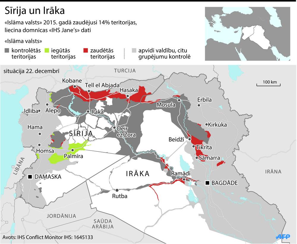 Islāma valsts pozīcijas
