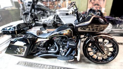 Созданный в Латвии мотоцикл Night Nomad