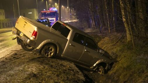 Серьезное ДТП в Таллине: зверь выскочил на дорогу