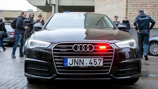 Новая Audi A6 литовской полиции