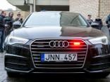 Lietuvas policijas jaunais, nemarķētais Audi A6