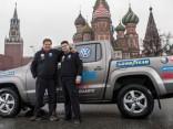 Veikts ātrākais brauciens no Dakāras līdz Maskavai