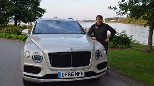 Bentley Bentayga dodas ekspedīcijā