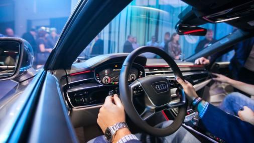 Jaunā Audi A8 prezentācija Rīgā