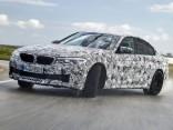 Jaunā BMW M5 prototips