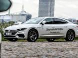 Презентация Volkswagen Arteon в Латвии
