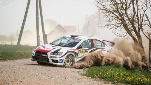 2-й день Rally Talsi 2017