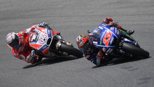Соревнования MotoGP в Италии на трассе Муджелло
