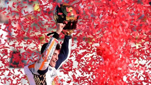 Соревнования MotoGP в Валенсии