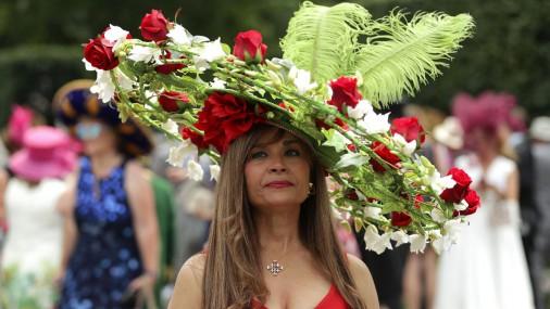 Стиль леди на королевских скачках в Аскоте
