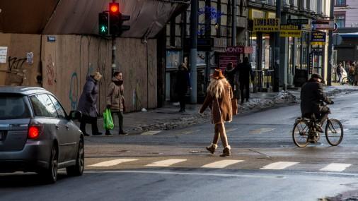 Уличный стиль: Рига