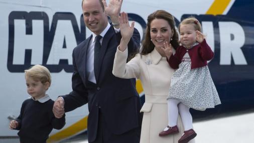 Королевская семья завершила свой официальный визит в Канаду
