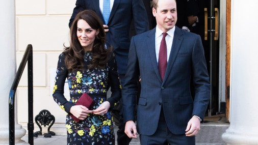Karaliskā ģimene vizītē Laikmetīgās mākslas institūtā Londonā