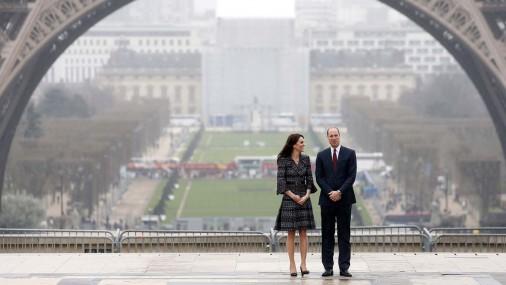 Визит Кейт Миддлтон и принца Уильяма в Париж