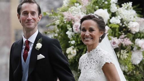 Королевская свадьба года: Пиппа и Джеймс