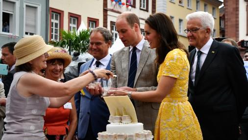 Keita un Viljams bauda Vācijas labumus