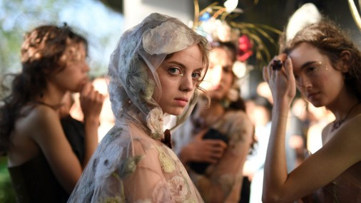 Показ Dior в Токио