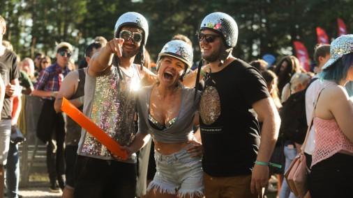 Фестиваль Positivus 2017: стиль гостей первого дня