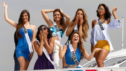 """Filipīnās notiek konkurss """"Miss Universe"""""""
