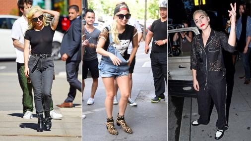 Уличный стиль Леди Гаги в Нью-Йорке