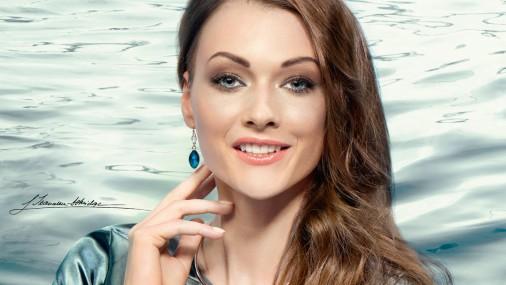 Лаура Икауниеце-Адмидиня - лицо рекламы косметики