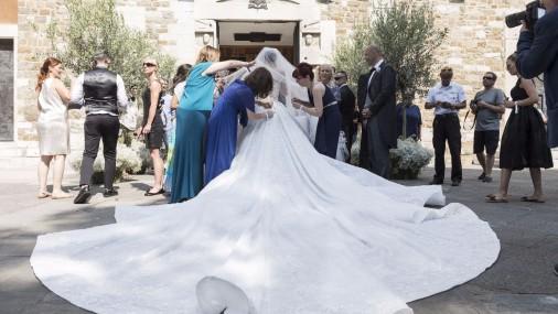 Свадьба Виктории, наследницы «Swarovski»
