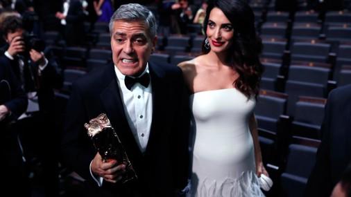 Супруга Джорджа Клуни Амаль в ожидании двойни