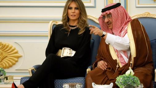 Визит Мелании Трамп в Саудовскую Аравию