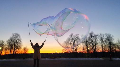 Burbuļu parāde