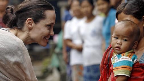 Актриса, которая хочет изменить мир: Анджелина Джоли