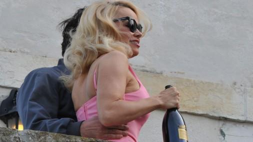 Pamela Andersone bauda foto mākslu Venēcijā