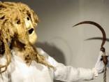 Latviešu tradicionālo masku izstāde ''Starp divām saulēm'' Madonā